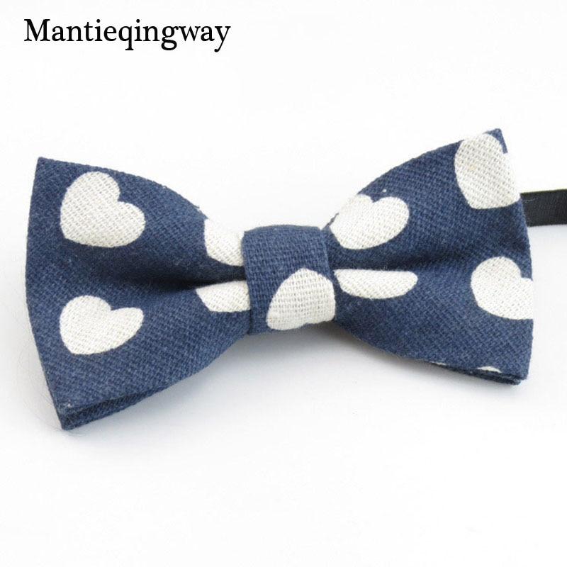 Mantieqingway Cute Baby Bowtie Fashion Wedding Tuxedo Neck Tie Bow Flower Boys Accessories Cotton Kids Bow Ties Children Bow Tie