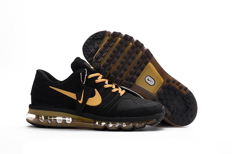 9eb6b7c784 Hot Sale NIKE Air MAX 2017 Nike Running shoes full palm nano Disu ...