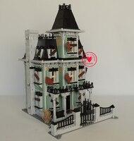 New LEPIN 16007 2141Pcs Monster Fighter The Haunted House Model Set Building Block Bricks Kits Model