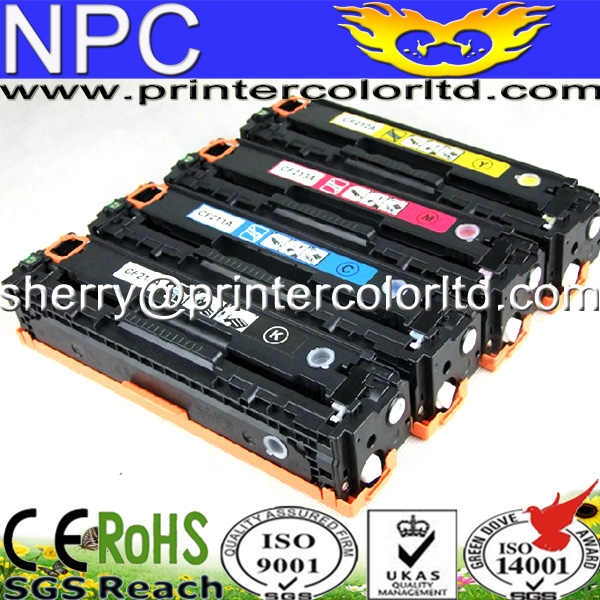 CF210A CF211A CF212A CF213A 131A Compatible Color Toner Cartridge For HP LaserJet Pro 200COLOR M251n M251nw