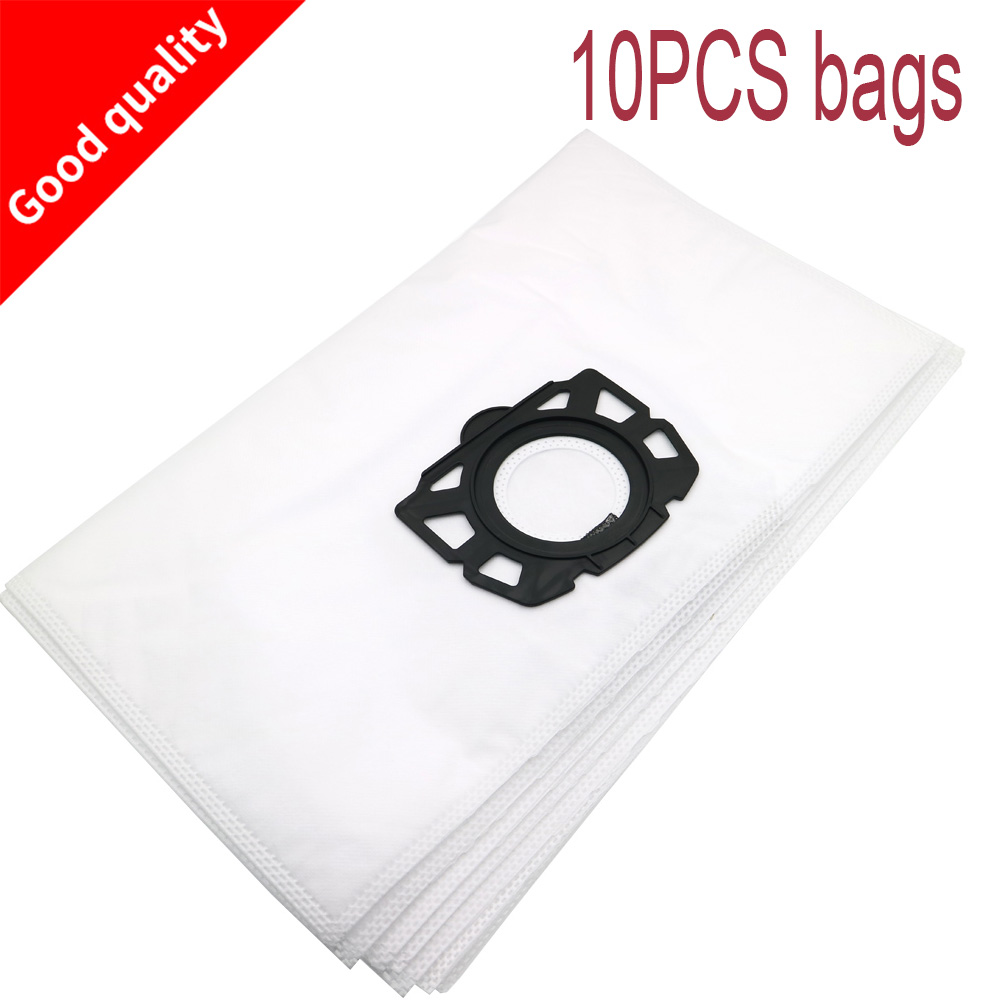 10PCS Filter Bags For Karcher MV4 MV5 MV6 WD4 WD5 WD6 For Karcher WD4000 To WD5999 Replacement For Part#2.863-006.0