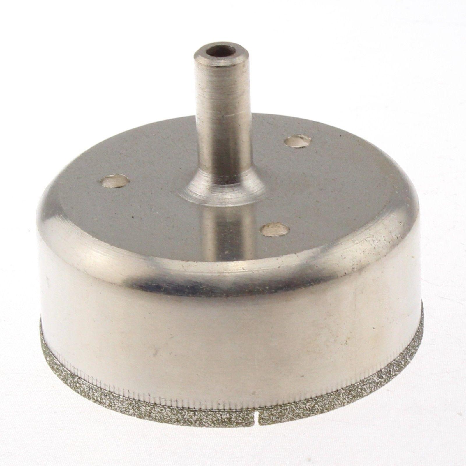 50mm-o cortador revestido diamante do furo de 100mm viu bocados de broca para a telha de vidro cerâmico ilovetool