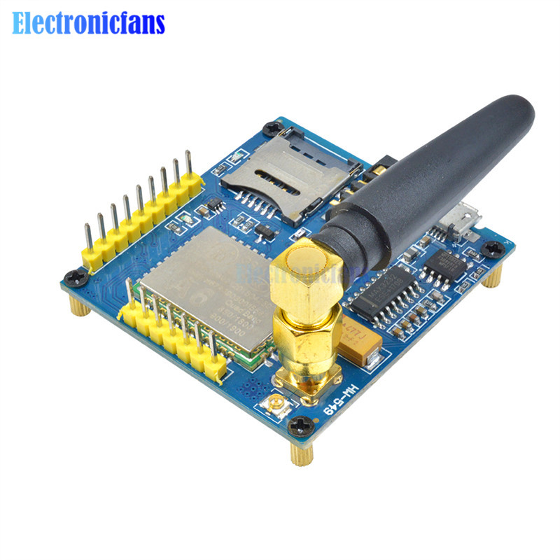 gprs text - 1Set A6 GSM GPRS Module TTL/RS232 Serial Core Development Board With Antenna GPRS Text Wireless Data Transmission Replace SIM900