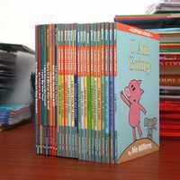 25 livros/definir Um Elefante & Piggie Livro EQ Inglês Imagem Crianças Livros de História da Educação das Crianças Aprender Inglês