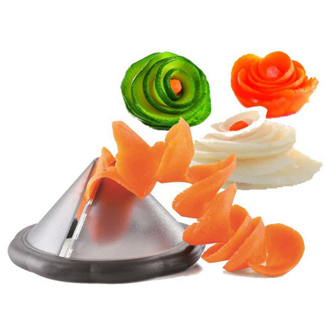New diy creative kitchen gadgets vegetable spirality slicer tool/ kitchen accessories cooking tools/accesorios de cocina W1