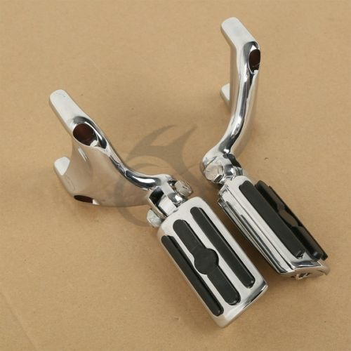 Motorcycle Footrests Mounting Brackets Foot Pegs For Harley 883 1200 XL Sportster 2004 2013
