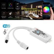 Mini Bluetooth / LED Wi Fi remote control for 3528 5050 RGB / RGBW LED strip light