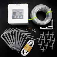DIY Automatic Drip Irrigation Kit Electronic Watering Timer USB Battery Powered Garden Self Watering System Kit
