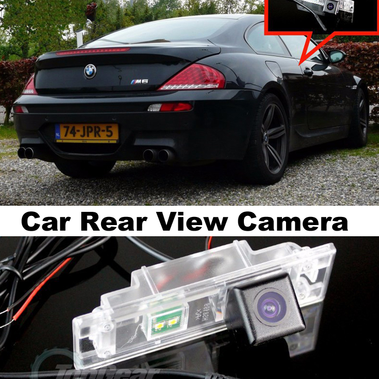 Car Camera For BMW 6 M6 E63 E64 2003~2010 High Quality Rear View Back Up Camera For Top Gear Friends to Use | CCD With RCA