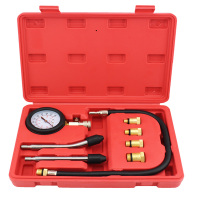 Engine Cylinder Compression Tester Kit Engine Pressure Tester For Petrol Engine