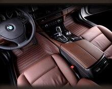 Coche tapetes alfombras de cuero set almohadilla del pie para Ferrari GMC Savana JAGUAR Smart Lamborghini Gallardo Murcielago Rolls-royce Phantom