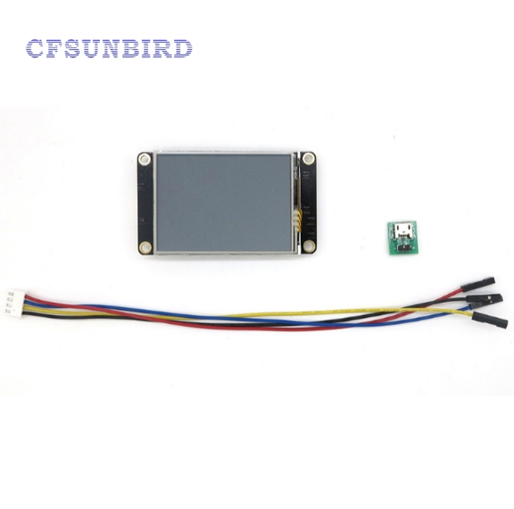 2.4 Nextion Enhanced HMI Intelligent Smart USART UART Serial Touch TFT LCD Module Display Panel For Raspberry Pi Arduin Kits