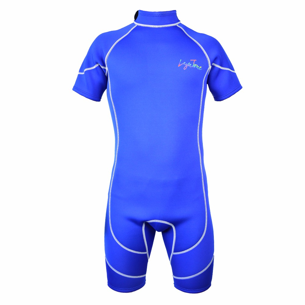 все цены на Cheap Mens Short Neoprene Triathlon Suit Scuba Dive Wetsuit Swimwear 3mm for Swimming B1618