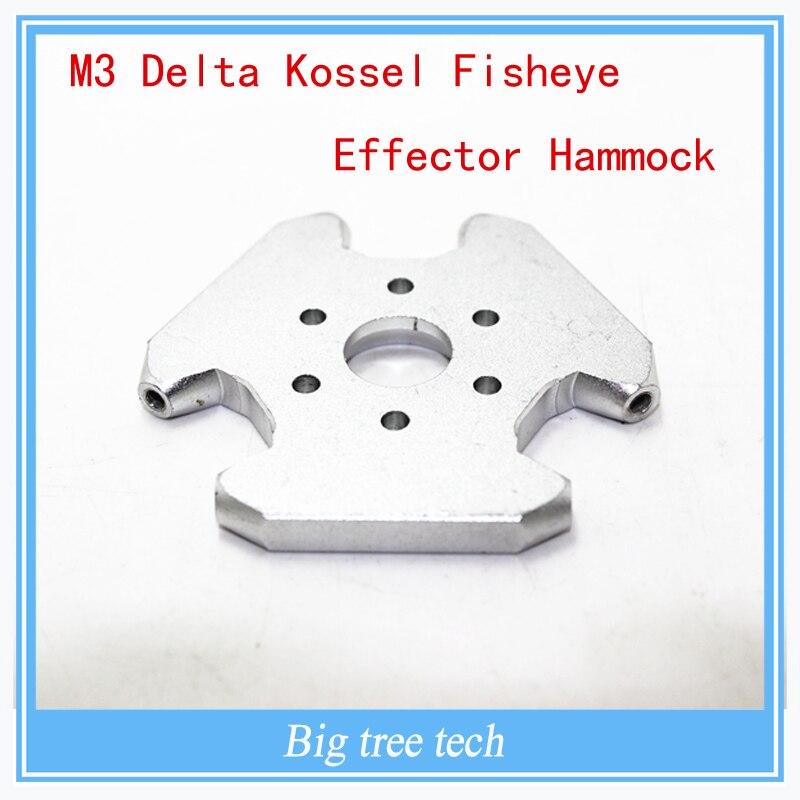 Accesorios de La Impresora 3D M3 Delta Kossel Hamaca de Efectos de ojo de Pez 3
