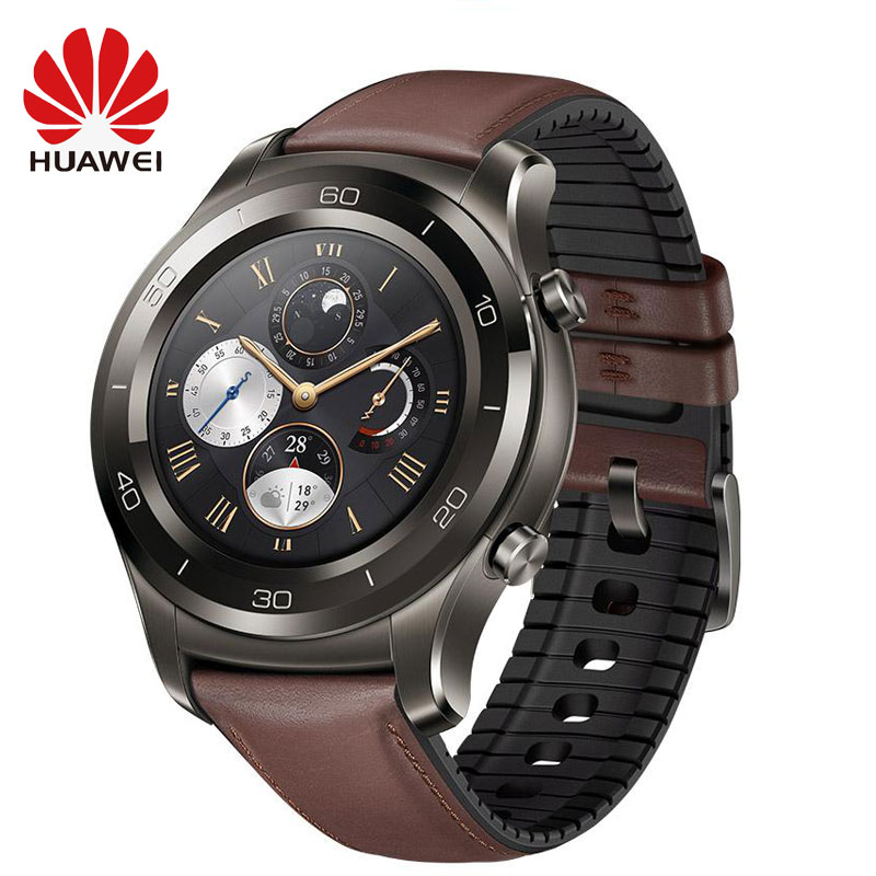 Originale HUAWEI Orologio 2 Pro Astuto Della Vigilanza Supporto LTE 4G di Chiamata di Telefono di Frequenza Cardiaca Sonno Tracker eSIM IP68 Impermeabile