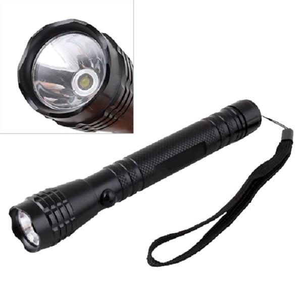 Mini Penlight LED 2 AA 3W Bright Camping Flashlight Torch Light Lamp Hand Strap #9405 hb 3w mini couple portable water resistant 40lm neutral white light led flashlight 2 pcs 1 x aa