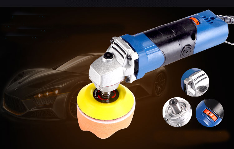 mini multifunctional waxing car polisher 25mm 50mm 75 mm variable speed