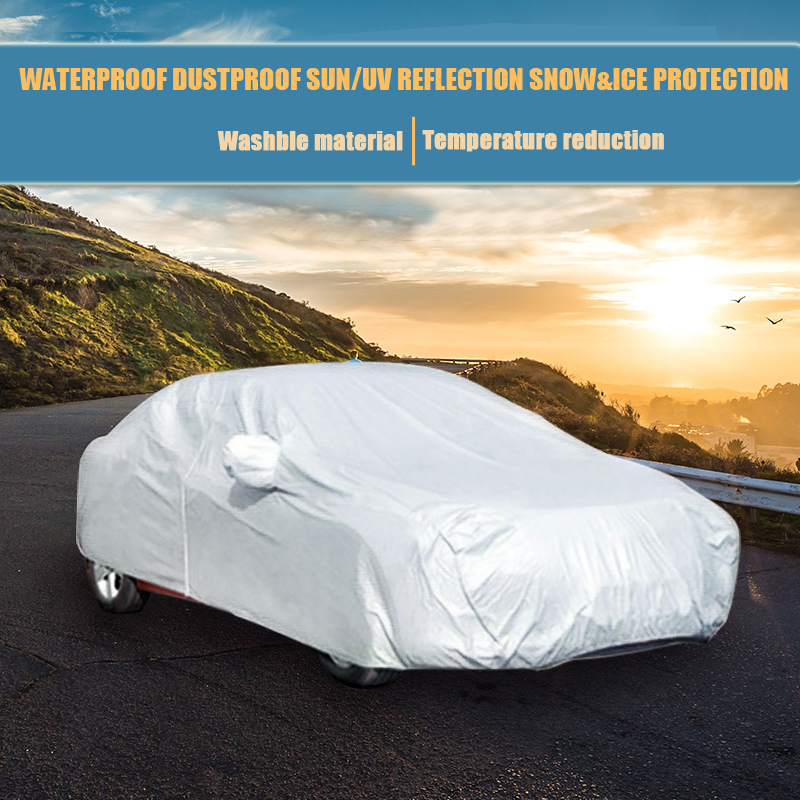 все цены на Size S/M/L/XL/XXL SUV M/L/XL Car Covers Indoor Outdoor Waterproof Sun UV Snow Dust Rain Resistant Protection Sedan Hatchback