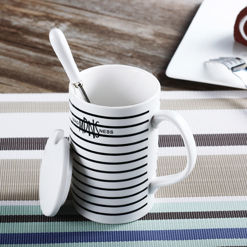 office coffee cups. aliexpresscom buy 350ml office coffee cups creative ceramic mug large capacity simple milk mugs water cup lover with spoon christmas gift from