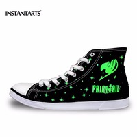 FORUDESIGNS Fashion Women High Top Canvas Shoes Anime Attack On Titan Shoes For Woman Ladies Fairy