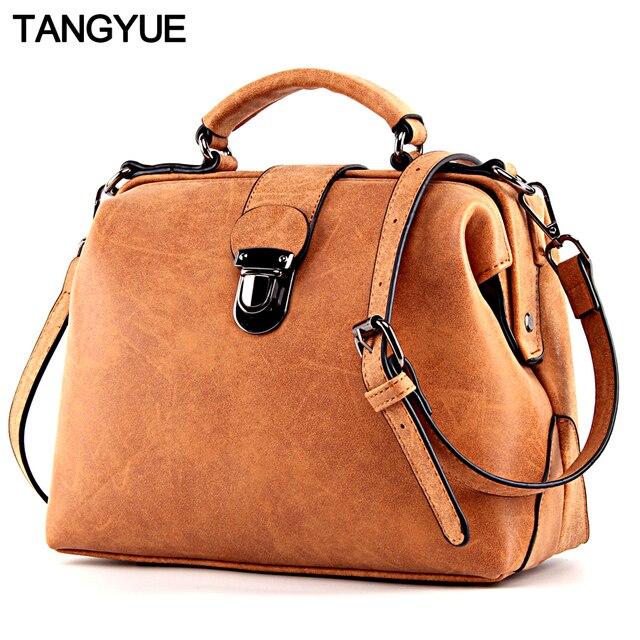 3f4b8e803b TANGYUE sacs à main femmes sac à bandoulière femme luxe en cuir mat  Messenger sac femmes