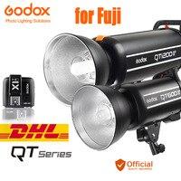 Godox qt серии 2.4 г беспроводной системы X GN65 Скорость синхронизации 1/8000 s студия вспышки света для Fuji x PRO2 X PRO1 X100F X T20 X T1 T2