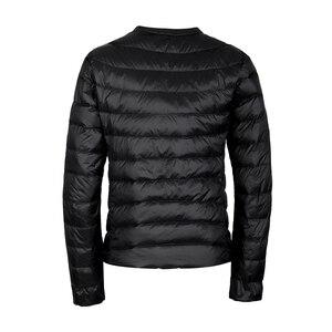 Image 3 - NewBang מותג למטה מעיל נשי קל במיוחד למטה מעיל נשים דק דק מעיל רוח ללא צווארון מעיל קל משקל חם מעיילי