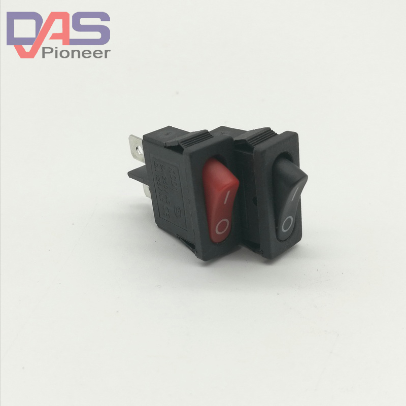KCD1-110 rocker switch boat switch rocker switch Power switch 6A/250V 10A/125V  for  meter the bedside lamp switch become warped board ship type switch kcd kcd1 112 303 line switch
