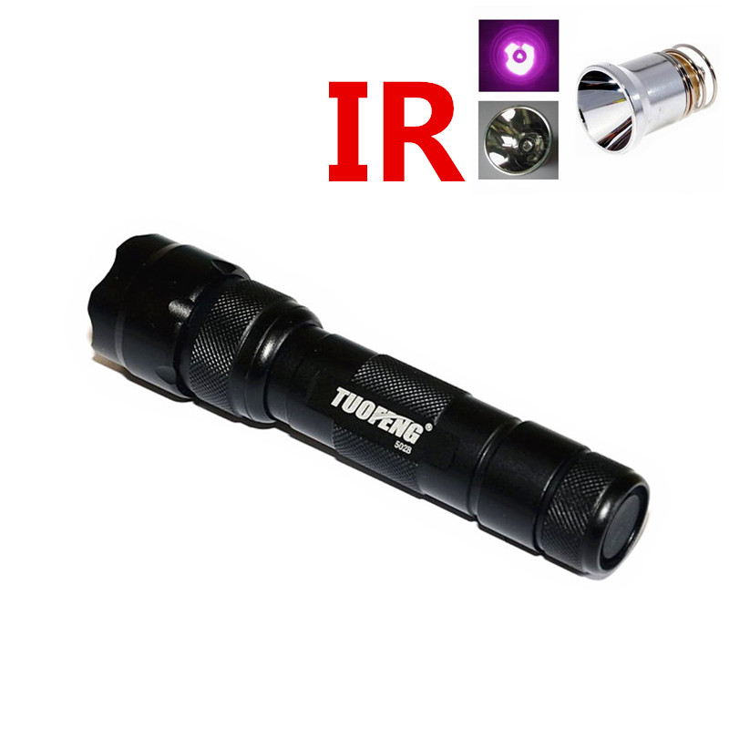TUOFENG WF 502B font b night b font font b vision b font led flashlight Infrared