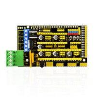 Free Shipping 3d Printer Ramps 1 4 Control Board Printer Control Reprap Mendelprusa