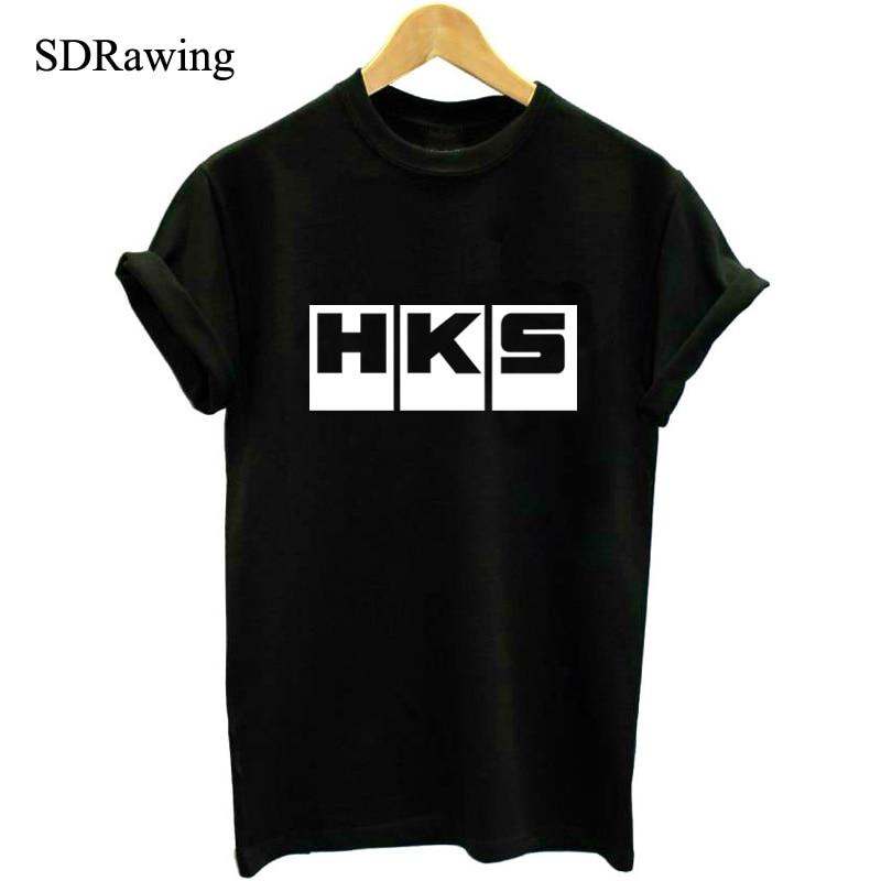 קיץ מותג רכב אוטומטי HKS T חולצות גברים - בגדי גברים