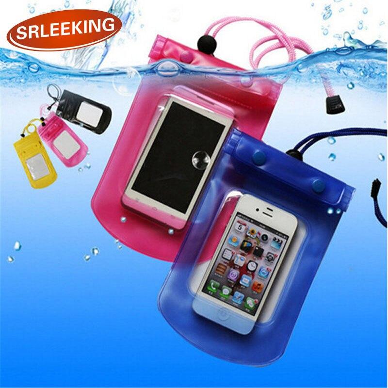 SRLEEKING Mobile Phone Waterproof Bag Case Cover Underwater for Smartphone Univers Water proof Mobile Phone Accessories & Parts