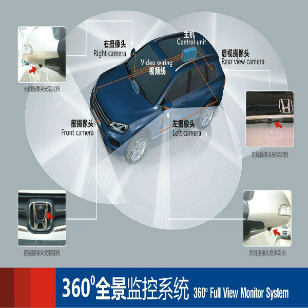 High Tech Best Ccd Universal 360 Degree All Round View Car