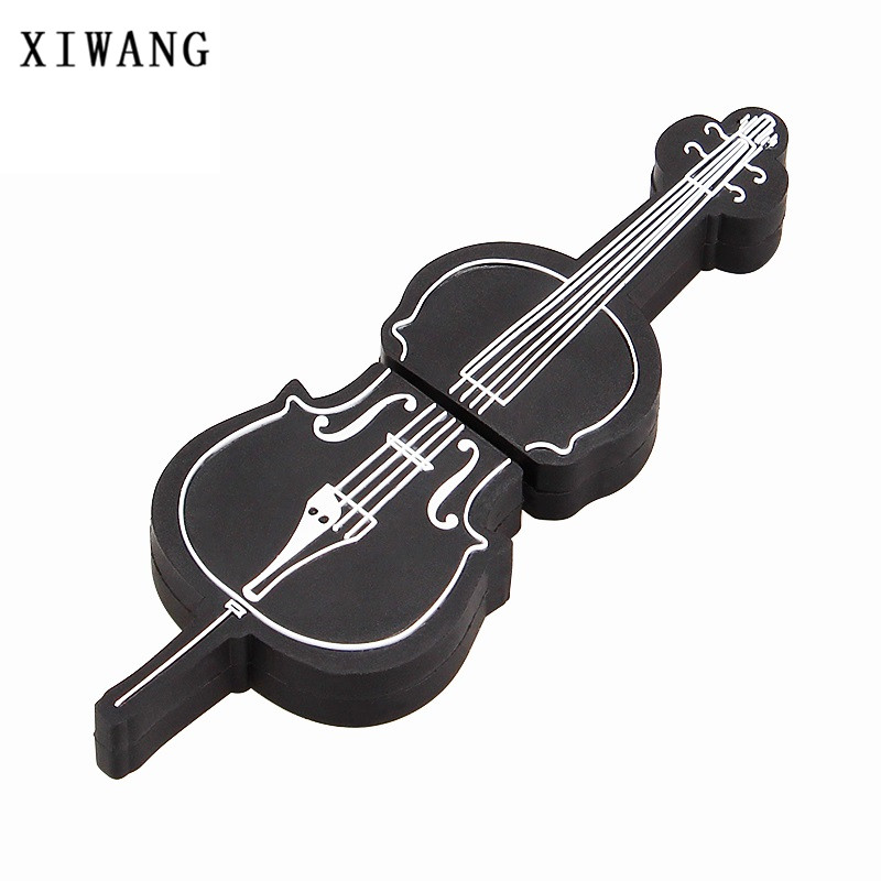 XIWANG instrument series usb high speed pen drive violin USB3.0 4GB 8GB 16GB 32GB 64GB music memory stick U disk holiday gift