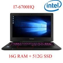 "P6-06 16G DDR4 RAM 512G SSD i7 6700HQ AMD Radeon RX560 NVIDIA GeForce 4G 15.6 gaming laptop"""