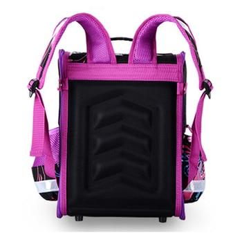 GCWHFL Children School Bags Girls Orthopedic Butterfly Design Princess School Backpack Kids Satchel Knapsack Mochila Infantil