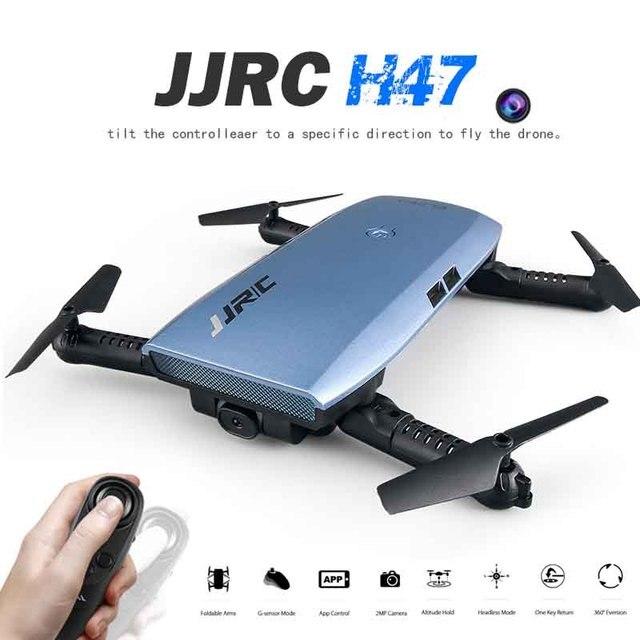 Newest JJR/C JJRC H47 ELFIE 720P HD FPV Wifi Camera Rc Quadcoper...