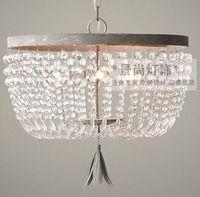 Американский Лофт кристалл коридор подвесной светильник Франция медный цвет гостиная спальня столовая кабинет бар подвесные лампы