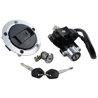Ignition Switch Lock Gas Key Set for Suzuki GSXR600/750 04 05 GSXR 600 GSXR 750 Motorcycle Accessories