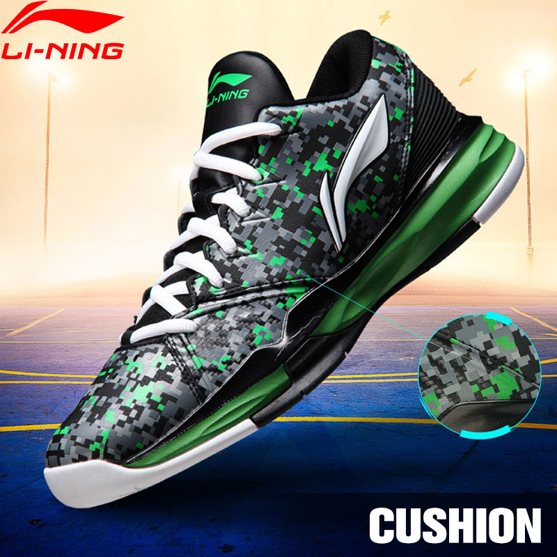 LI-NING New CBA Fans Mesh Breathable Low Upper Winter Hot-Selling Men Shoes Sport Shoes Sneakers Basketball Shoes ABAJ025 XYL009 li ning new arrival skateboard boot height increasing winter high top sport shoes sneakers walking shoes men alak049 xmr1159