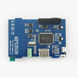 Image 4 - Raspberry pi 3.5 polegada hdmi lcd touchscreen 3.5 polegada display 60 fps 1920*1080 ips tela de toque para raspberry pi 2 modelo b & rpi b
