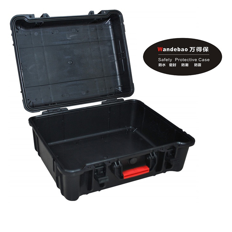 Tool case toolbox suitcase Impact resistant sealed waterproof safety ABS case460x350x220mm camera case with pre-cut foam lining