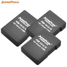 3X 7.2V 1500mAh Li-ion EN-EL14 Rechargeable Battery for Nikon P7200 P7700 P7100 D5500 D5300 D5200 D3200 D3300 D5100 D3100 L10 4pcs en el14 1 2ah camera battery for nikon df d90 d300 d5300 d5200 d5100 d3300 d3200 d3100 for coolpix p7100 p7200 p7700 p7800