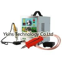709AD + ЖК дисплей 18650 Аккумуляторный аппарат для точечной сварки машина 4 в 1 сварочный аппарат фиксированная Импульсная Сварка постоянная тем