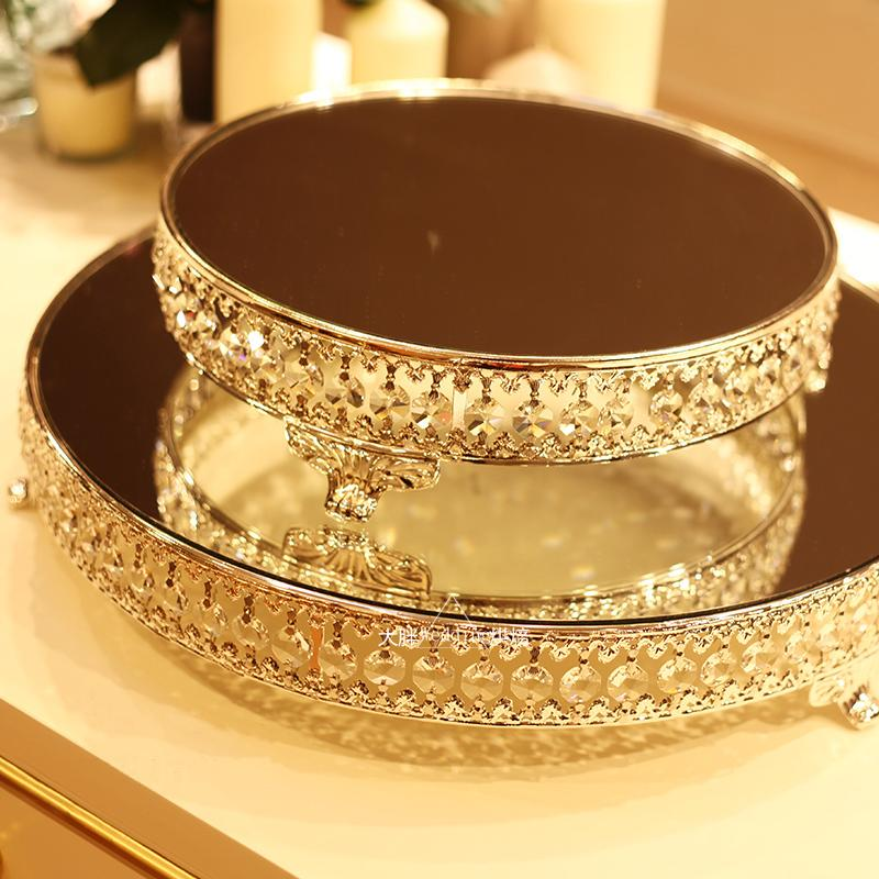Popular Silver Cake Stands Wedding Cakes Buy Cheap Silver Cake