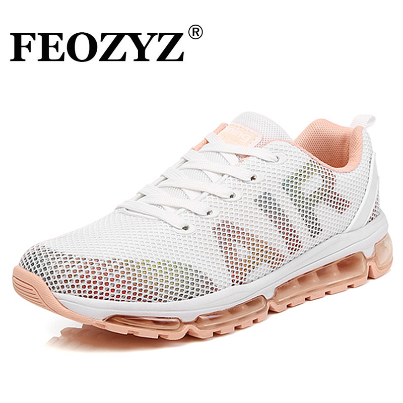 FEOZYZ Full Air Cushion Running Shoes Women Sneakers Summer Woman Shoes Runner Sport Sho ...