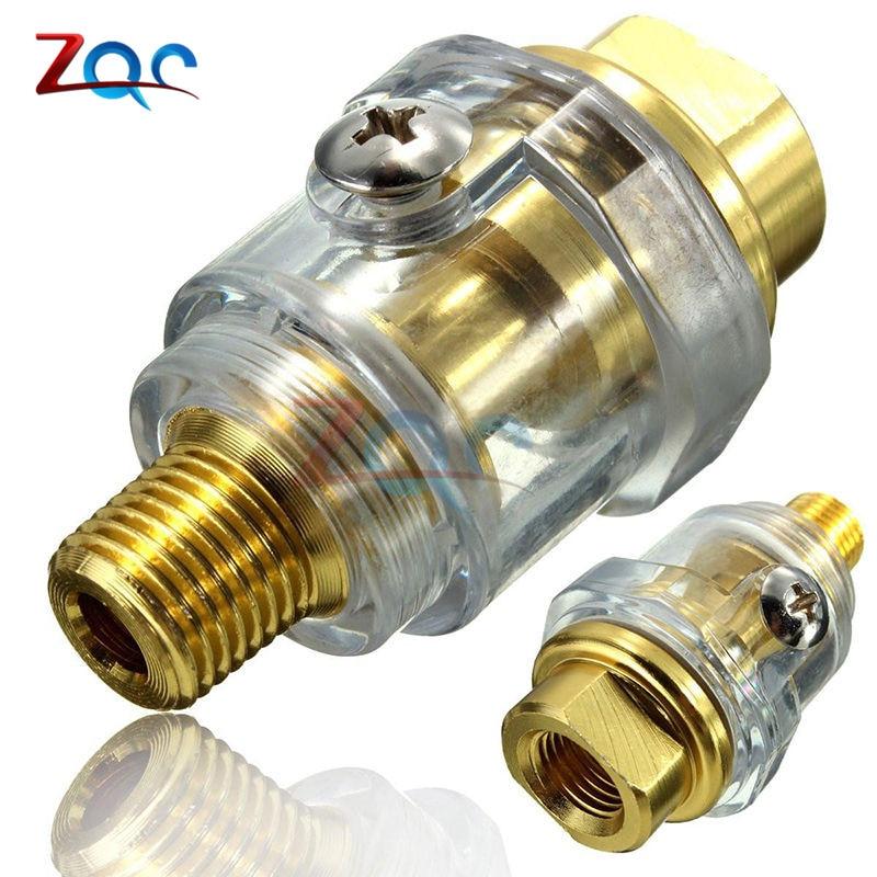 "Buy Hardware Oiler Lubricator 1/4"" BSP Mini In-Line Oiler Lubricator Pneumatic Tool & Air Compressor Pipe"