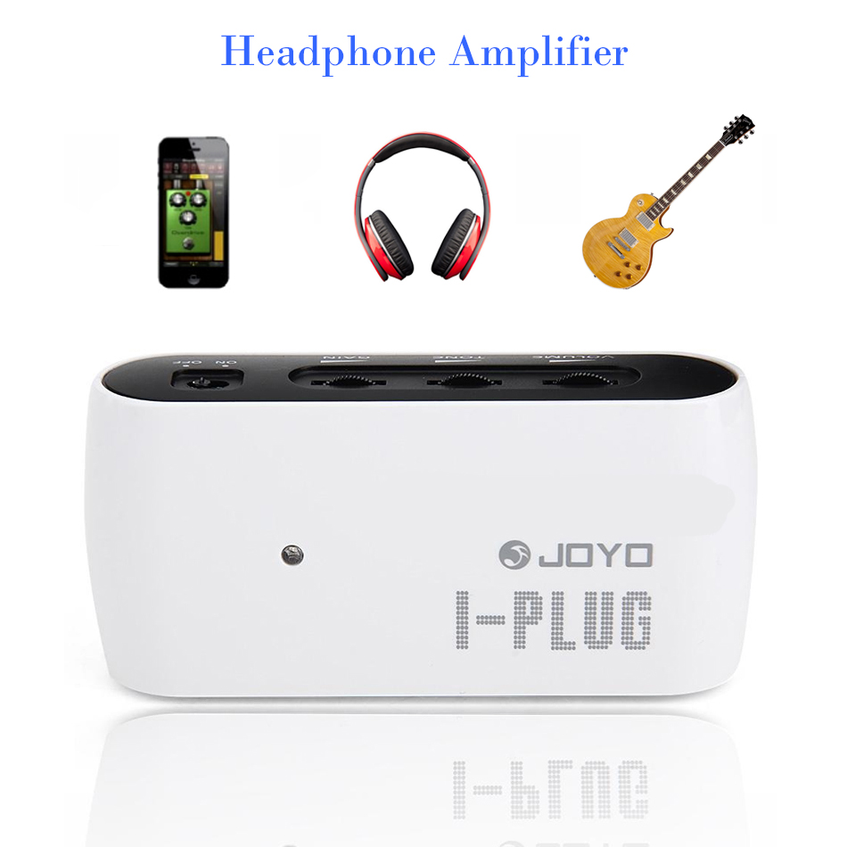JOYO I-Plug Guitar Headphone Pocket Amplifier Mini Amp With Built-in Overdrive Sound Effects For Windows Phone / Android / IOS joyo ja 01 2w mini amplifier direct guitar plug in with big sound great for practice