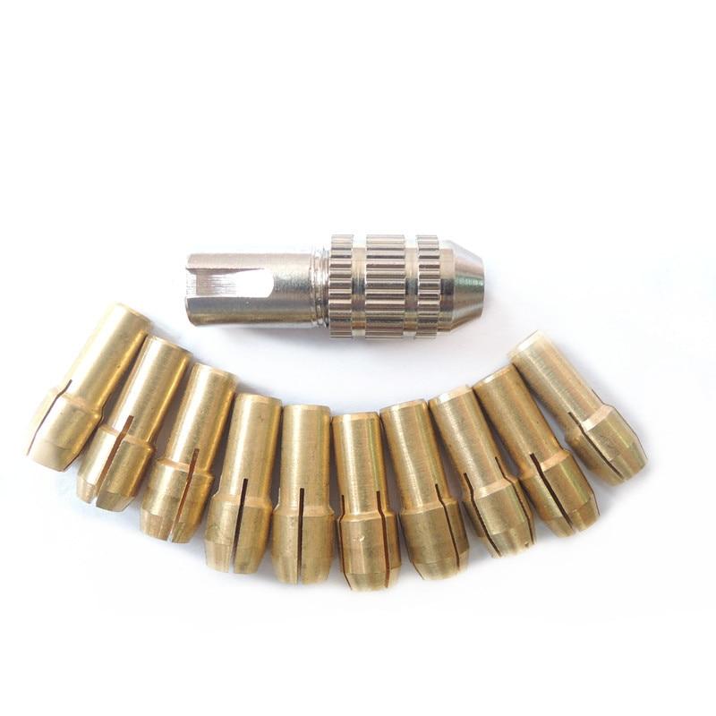 Power Tool Accessory Mini Electric Brass Drill Bit Chuck