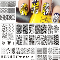 BORN-PRETTY-Nail-Stamping-Plates-Lace-Flower-Animal-Pattern-Nail-Art-Stamp-Stamping-Template-Image-Plate-Stencil-Nails-Tool-5